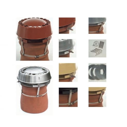 Anti Downdraught Chimney Cowls - Various Styles