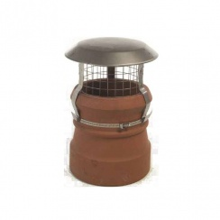 Junior Bird Guard Solid Fuel Chimney Cage