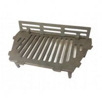 "A.L. Cast Iron Bottom Fire Grate Complete With Coal Guard-18""Open Fire"