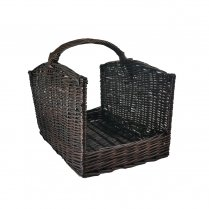 MANOR ARCHED SIDE  LOG BASKET 0310  LARGE
