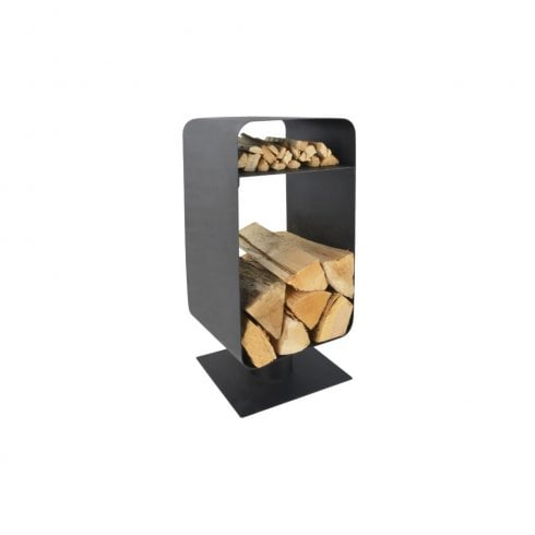 Manor Nordic Log Holder - Black