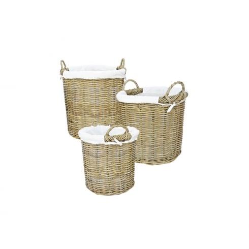 Manor Rattan Langham 3 Basket Set