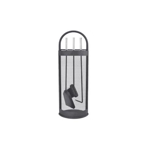 Manor Stylish Companion Set - Black & Pewter