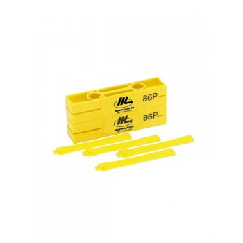 Marshalltown Line Blocks - Bright Yellow