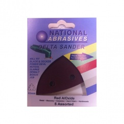 National Abrasives Emery Paper - Pack of 3