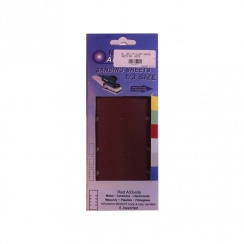 NA 232 X 93 CLIP-IN SANDPAPER SHEETS 5PK  ASS