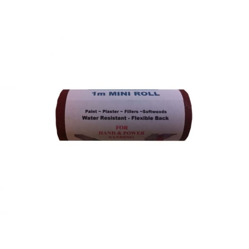National Abrasives Red Sandpaper - 1m Roll x 115mm