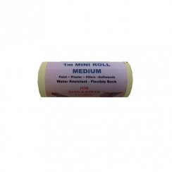 National Abrasives Yellow Aluminium Oxide Sandpaper - 1m Roll x 115mm
