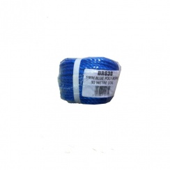 BLUE 6MM ROPE 30 METRE ROLL
