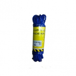 Blue Polypropylene Rope 8mm - 15 Metre Roll