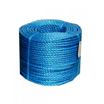 Newsome Blue Polypropylene Rope 8mm - 200 Metre Roll