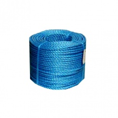 Blue Polypropylene Rope 8mm - 200 Metre Roll