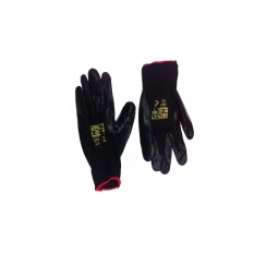 Nite Star Click 2000 Safety Glove - Black - Size 9 (L)