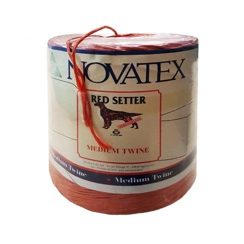 Novatex Red Setter Polypropylene Baler Twine - 1830 Metres/6000 Feet