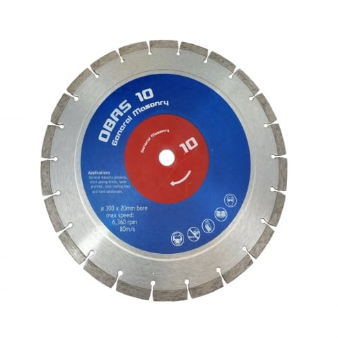 "Obas 12""  General Purpose Diamond Blade"