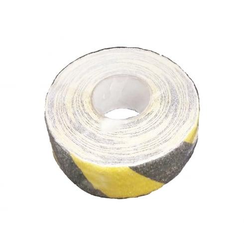 Olympic Fixings Anti-Slip Yellow/Black Hazard Tape