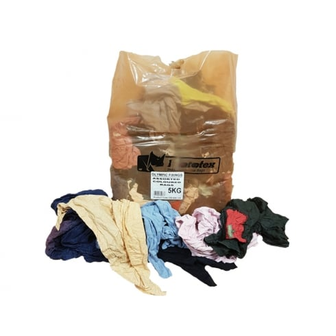 Olympic Fixings Assorted Coloured Rags (5KG)