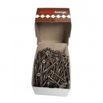 Cross Head Timber Screws - 4.5x50mm Ruspert Brown (200)