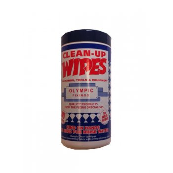 Olympic Fixings OLYMPIC CLEAN UP WIPES JUMBO TUBE (100)