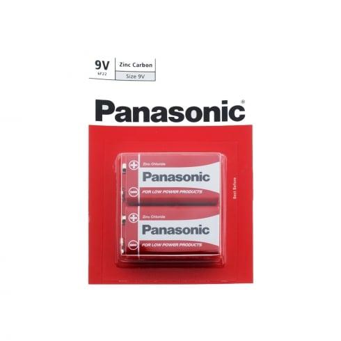 Panasonic 9v Zinc Carbon Battery 2 Pack