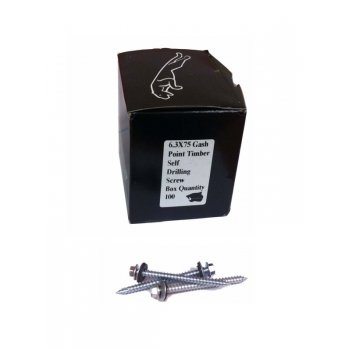 Panther Quality Products 82MM SELF DRILLING SCREWS(C/W WASHER) BOX