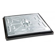 PC2AG Clark Drain Galvanised Steel Cover and Polypropylene Frame