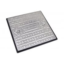 PC7CG Clark Drain Galvanised Steel Cover and Polypropylene Frame