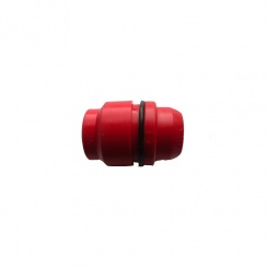 "MDPE Insert Adaptor Red 20mm (1/2"") 93002"