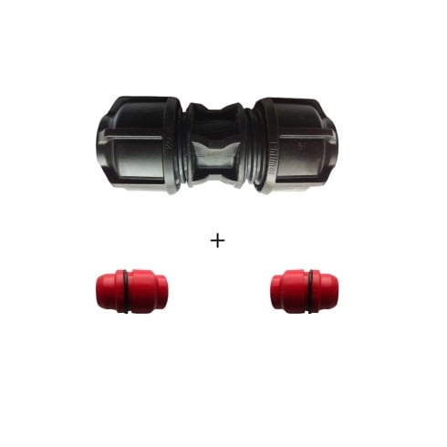 Philmac Straight Joiner/Coupler plus Reducers
