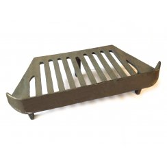 "Primrose / Leaf Urn Grate 3 Legs for a 16"" Fireplace Opening"