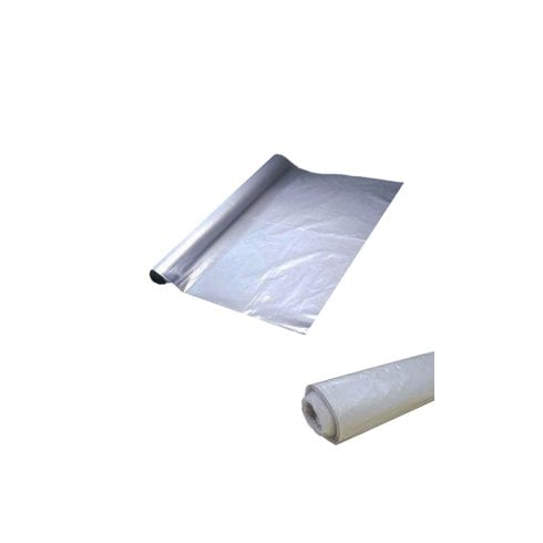 Principal Building Products Clear Polythene Plastic Sheeting - 4m x 25m (30mu/120guage) 100% Recycled LDPE