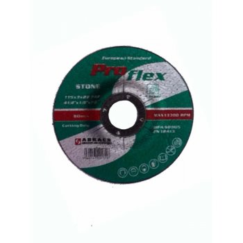 "Pro Flex Stone Cutting Disc 4"" (Depressed Centre) 115x30"""