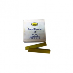 Yellow Road Marking Crayons - Box of 12