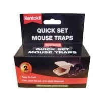 Quick Set Mouse Traps