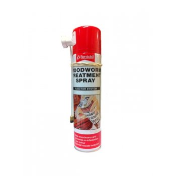 RENTOKILL WOODWORM TREATMENT  AEROSOL 125ML
