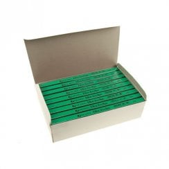 Rexel Blackedge Carpenters Pencil Green - HARD - 72Pack