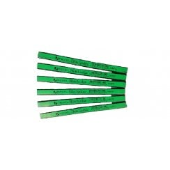 Rexel Blackedge Carpenters Pencil Hard Grade Green