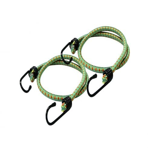 Rolson 2pc 900mm x 12mm Bungee Cord