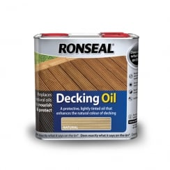 Ronseal Decking Oil- 5Lt - Natural
