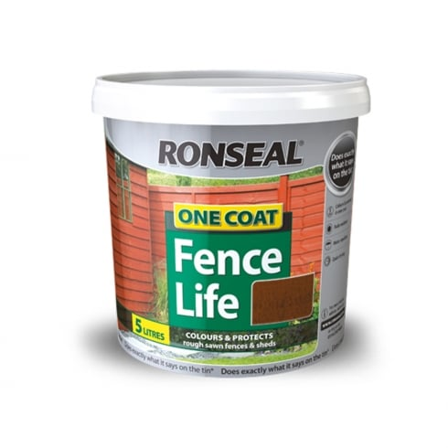 Ronseal Fence Life 5Lt - Various Colours