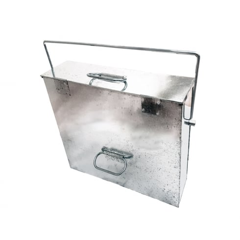 R/TOWER GALVANISED ASH CARRIER BOX  0569