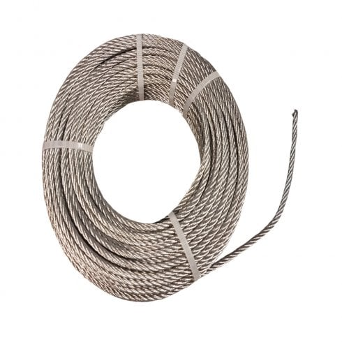 Sterling 3mm Steel Wire Rope - 30mtr