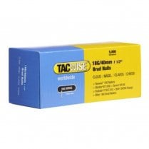 Tacwise 18G/40mm Brad Nails (Box of 5000) 0400