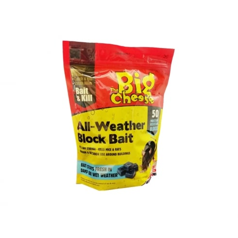 ALL WEATHER BLOCK BAIT 50 PACK  STV113
