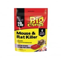 THE BIG CHEESE MOUSE&RAT KILLER (6SACHET)