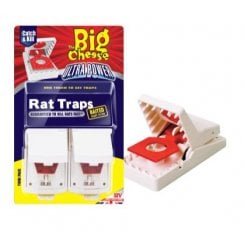 THE BIG CHEESE ULTRA POWER RAT TRAP (2 PK)