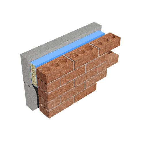 Timloc Thermo-Loc FRSTOP Fire-Rated Cavity Stop Sock FRSTOP150