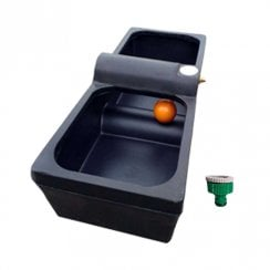 30 Gallon Water Trough/Drinker plus Plastic Tap Adaptor