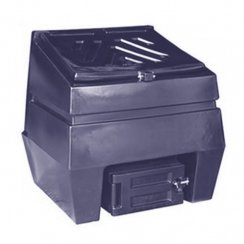 Titan Coal Bunker 300kg Capacity - Black