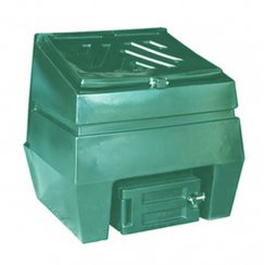 Titan Coal Bunker 300kg Capacity - Green